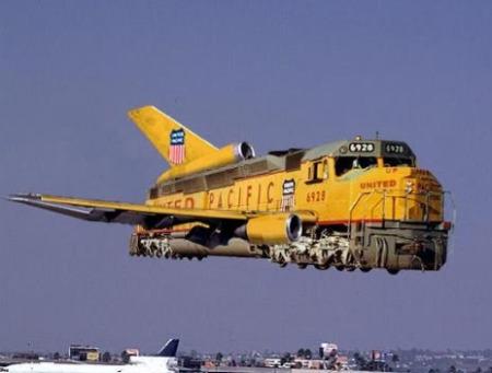 El Avión-Tren de la libertad