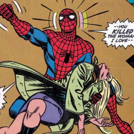 Como entrante, matar a tu novia. Como postre, descubrir años después que se tiró a tu archienemigo y tuvo hijos. Ah, Marvel, nunca cambies.